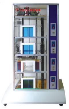 最常见的升降式电梯结构