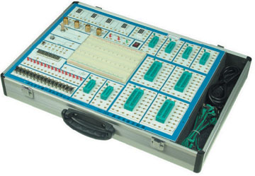 各类实验箱  1,门电路的逻辑功能及测试实验 2,组合逻辑电路(半加器