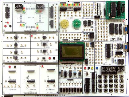 一改传统实验箱实验电路在板模式