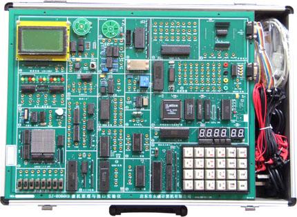 64k实验程序存储器,开放式4*6键盘电路,开放式6位动态数码管显示电路
