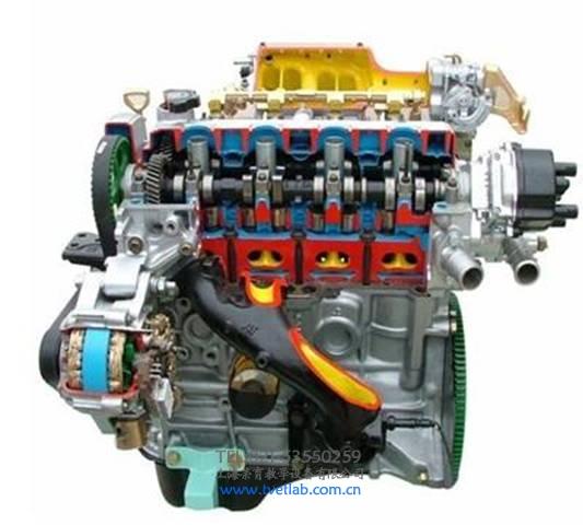 汽车整车解剖模型,发动机剖面教具
