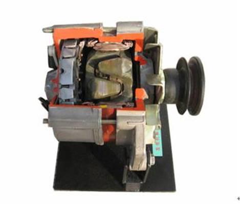 发电机解剖模型 发电机解剖模型 汽车空调压缩机解剖模型高清图片