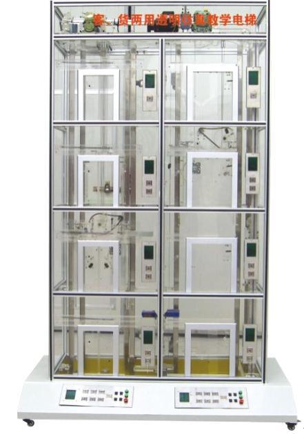 电梯基本结构: 1,机房部分:包括曳引机,限速器,电磁制动器; 2,控制柜