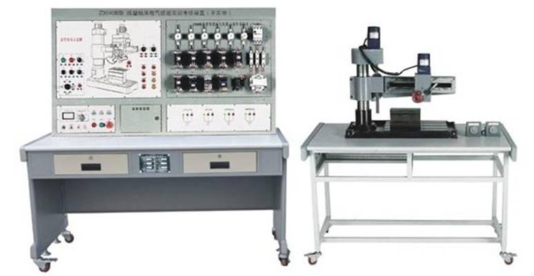 try-z3040b型摇壁钻床电气技能实训考核装置(半实物)