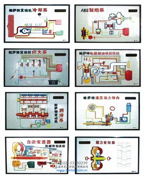 上海大众帕萨特程控电教板