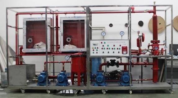 消防喷淋水泵与坮力阀接线图